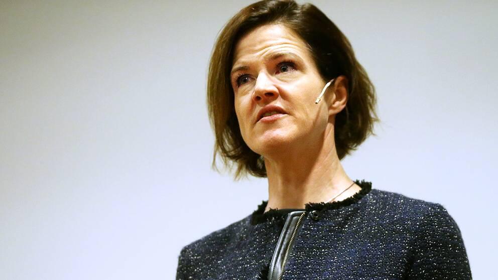 Moderatledaren Anna Kinberg Batra.