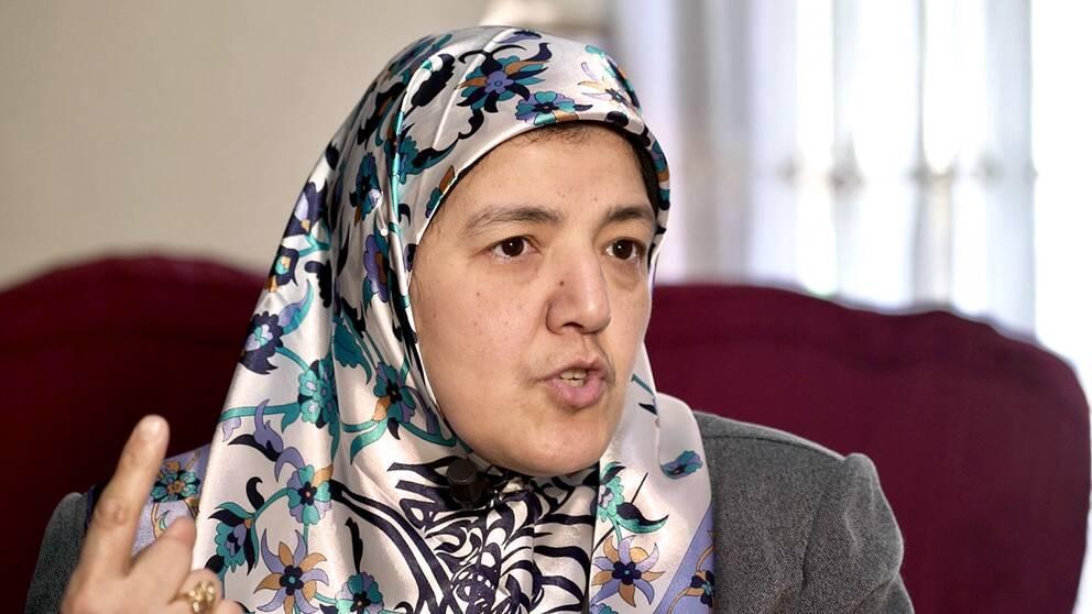 Wafaa Hefny, barnbarn till det muslimska brödraskapets grundare, Hassan al Banna.
