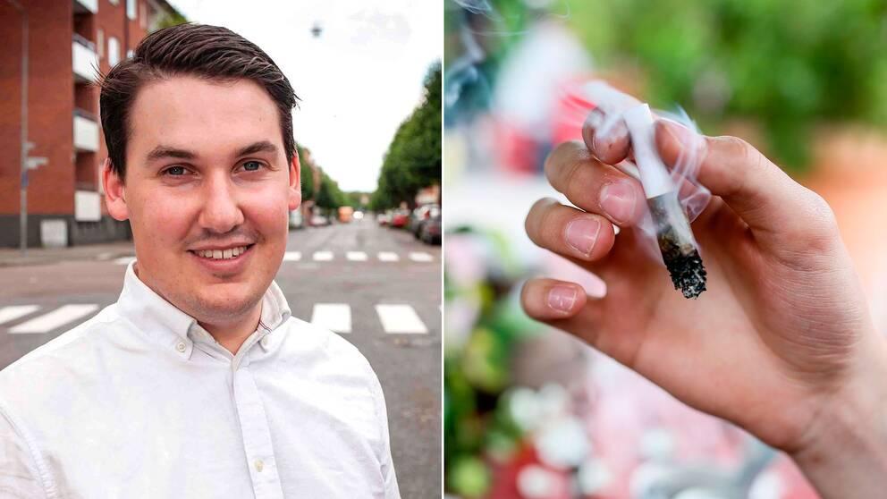 LUF:s ordförande Joar Forssell vill att Liberalerna ska arbeta för att avskaffa nolltoleransen mot narkotika i Sverige.