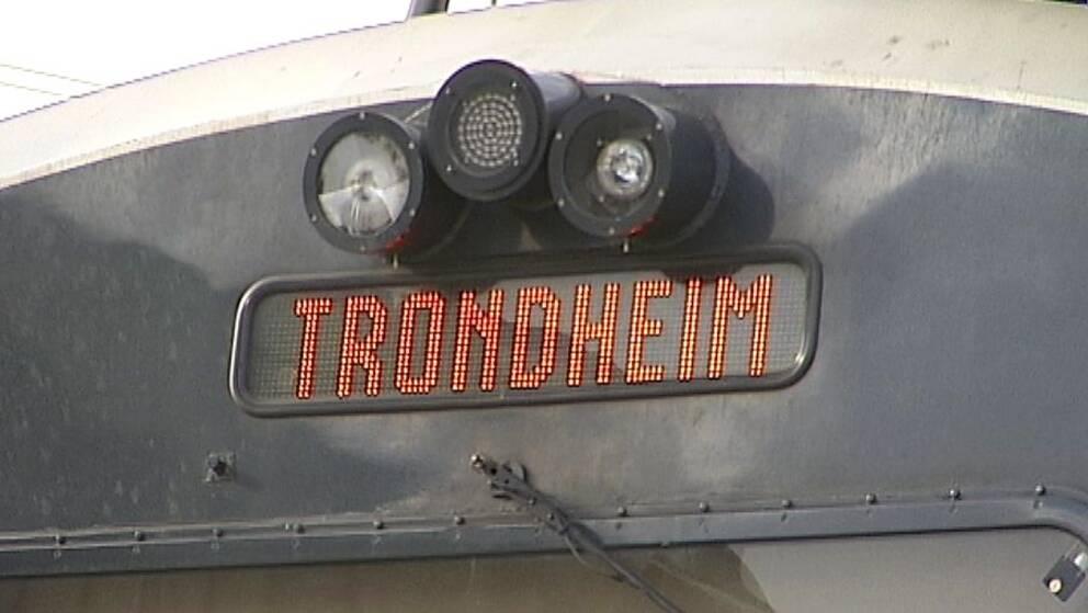 I framtiden går tågen direkt från Östersund till Trondheim