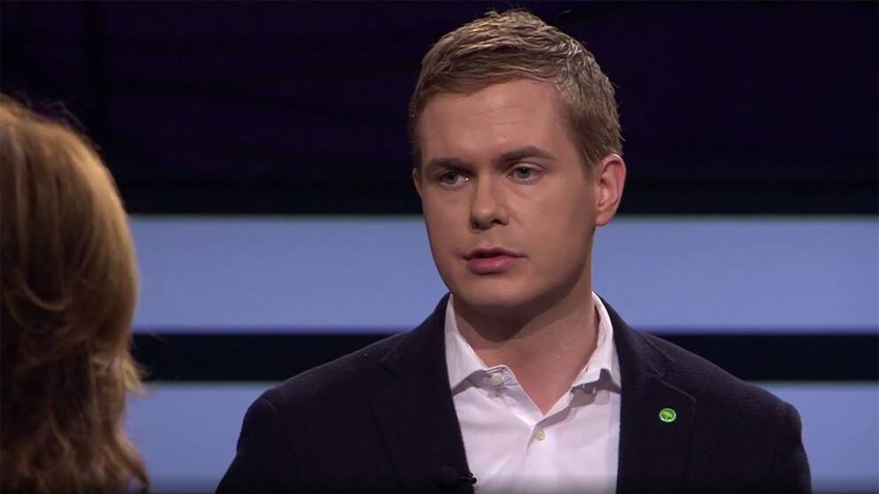 Gustav Fridolin i SVT:s Agenda.