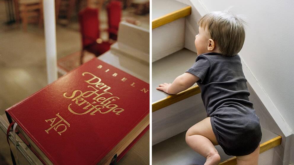 Två saker som gör läsarna lyckligare: bibeln och att slippa barn.