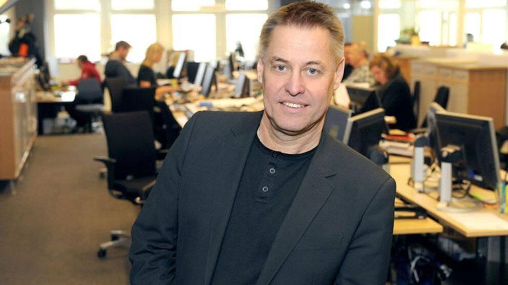 Ansvarig utgivare för SVT Nyheter, Ulf Johansson.