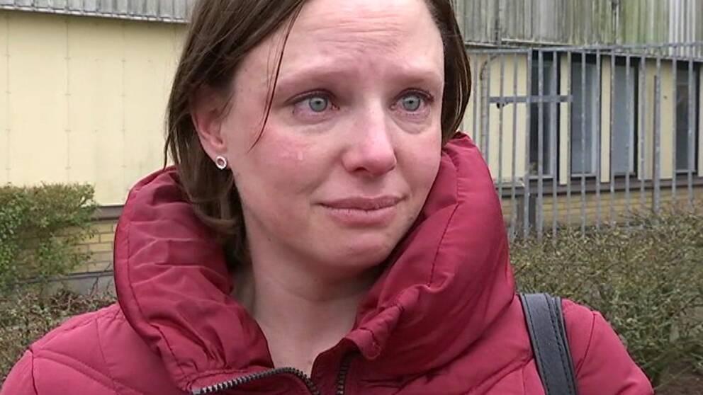 Emelie Sellman är ledsen över att Findus stänger ner i Bjuv.