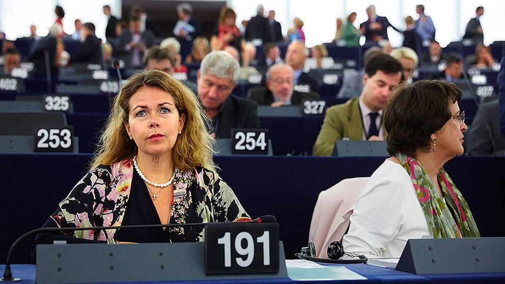 Cecilia Wikström (L) Europaparlamentariker