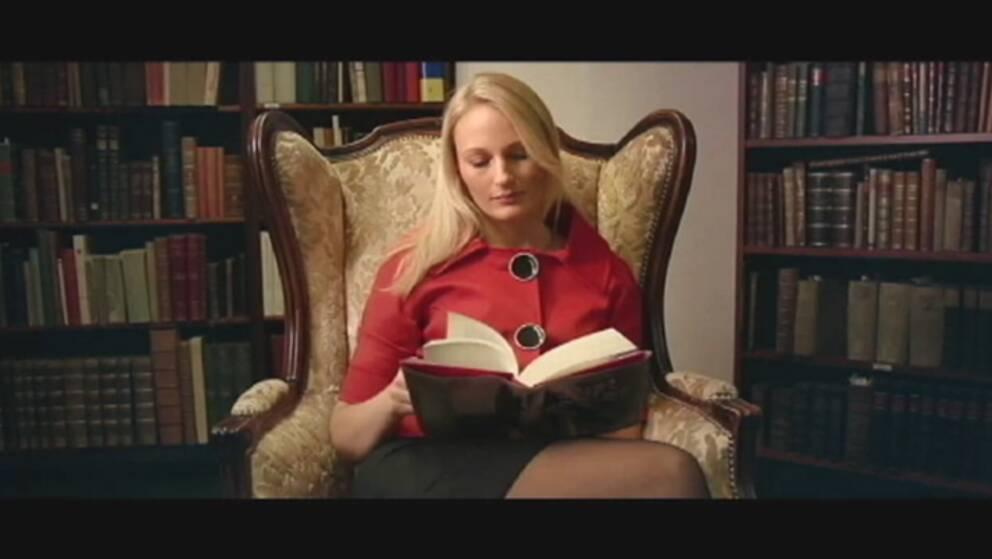 Författaren Charlotta Lindell.