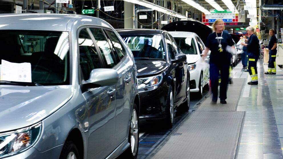 Biltillverkaren Saab. Foto: Scanpix