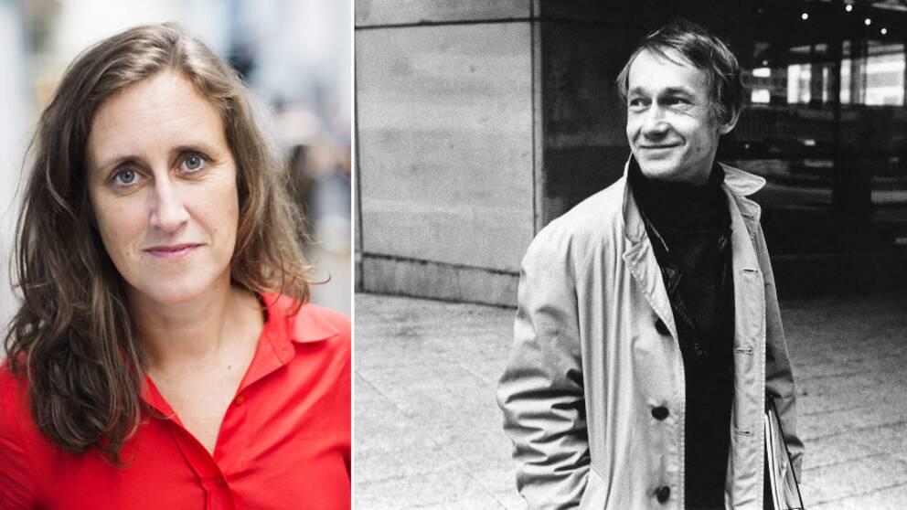 SVT:s vd Hanna Stjärne tackar Gösta Ekman för hans ovärderliga bidrag till dramatiken och till tv-historien