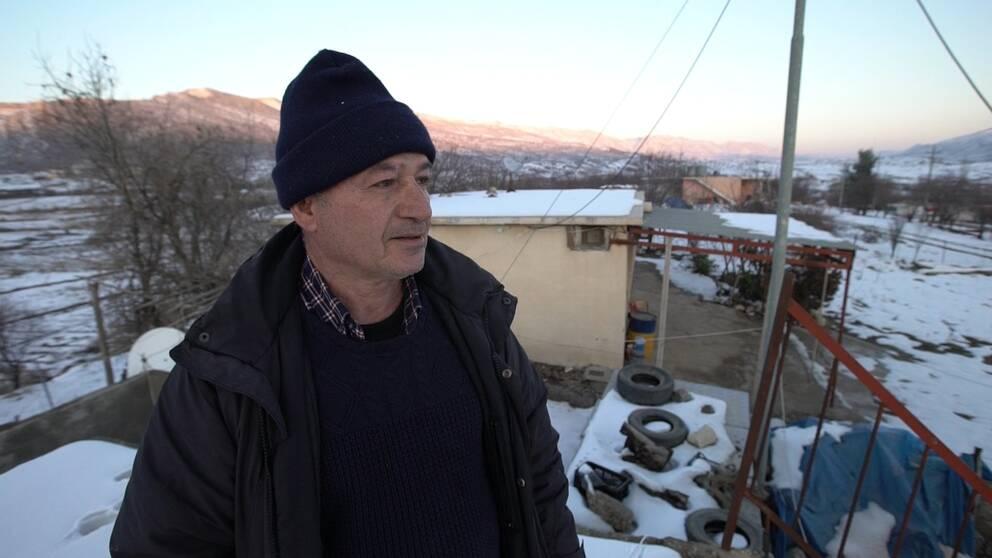 Binkhas Hermez är en av få assyrier som flyttat tillbaka till Irak.