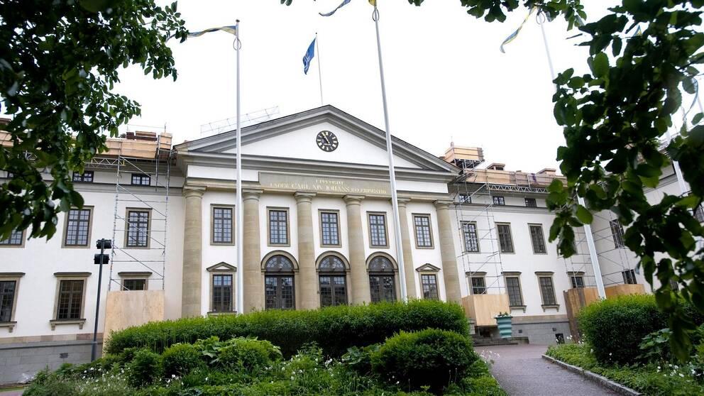 Landstingshuset på Kungsholmen.