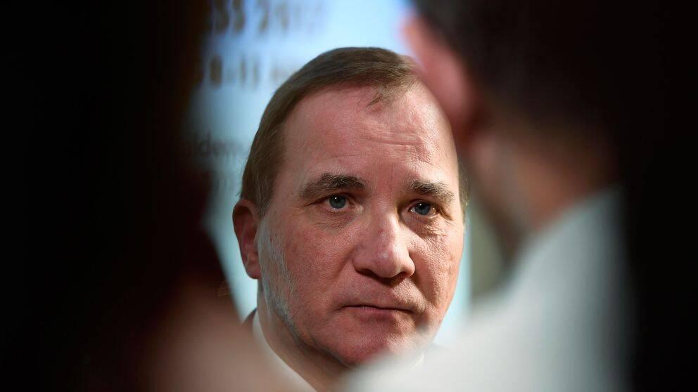 Stefan Löfven presenterar partistyrelsens förslag inför kongressen i helgen.
