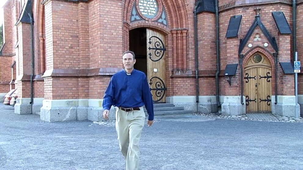 Kenneth Nordgren, kyrkoherde vid Svenska Kyrkan i Umeå.