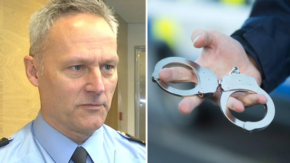 Jarl Holmström som är biträdande chef för polisregion syd