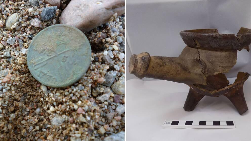 fynd utgrävning