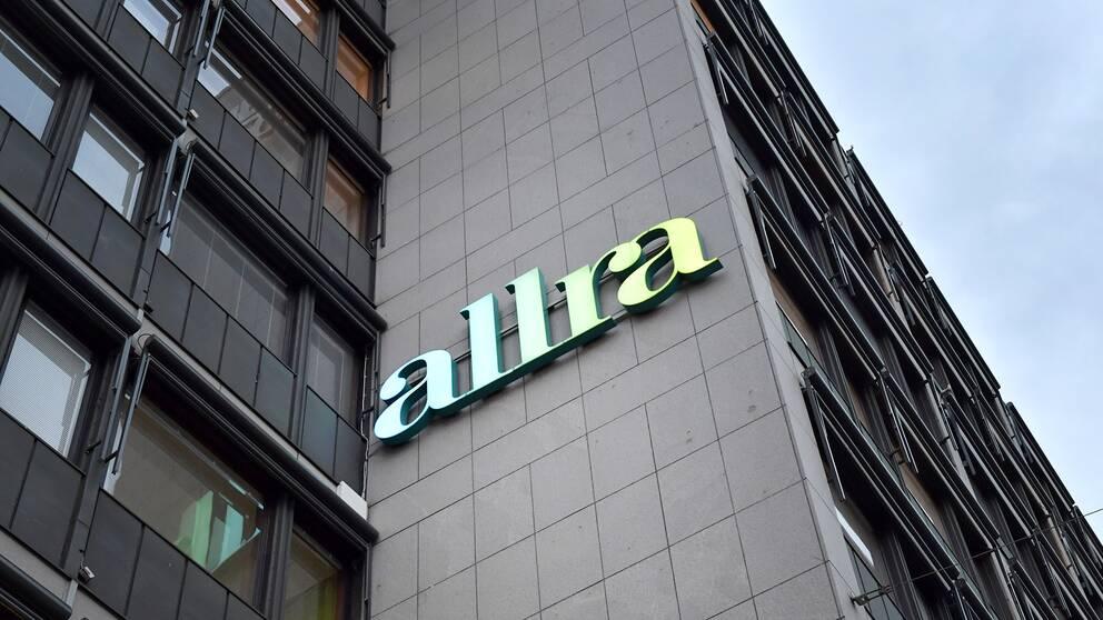 Pensionsbolaget Allra har sitt huvudkontor på Sveavägen i Stockholm.