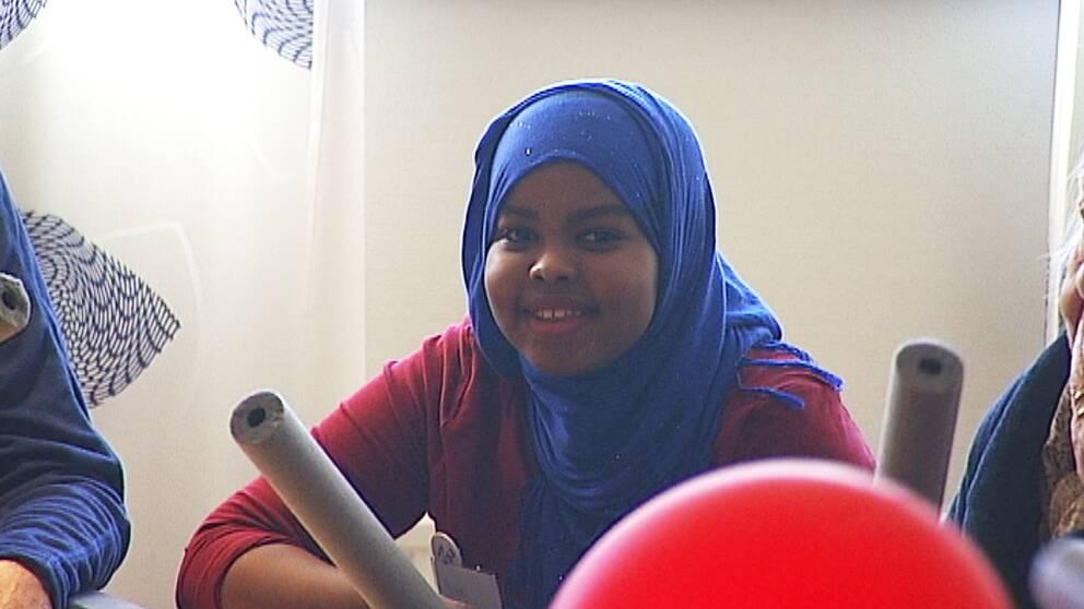 Ismahan Mustafa har testat på livet som undersköterska med tre dagars prao