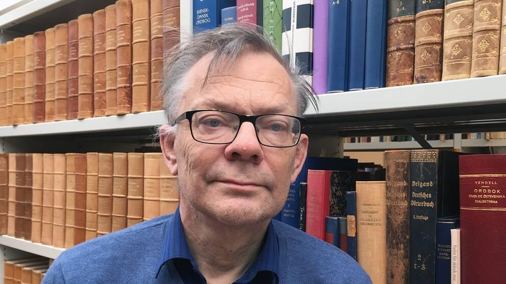 Göran Sjögård, arkivchef på Folklivsarkivet i Lund.