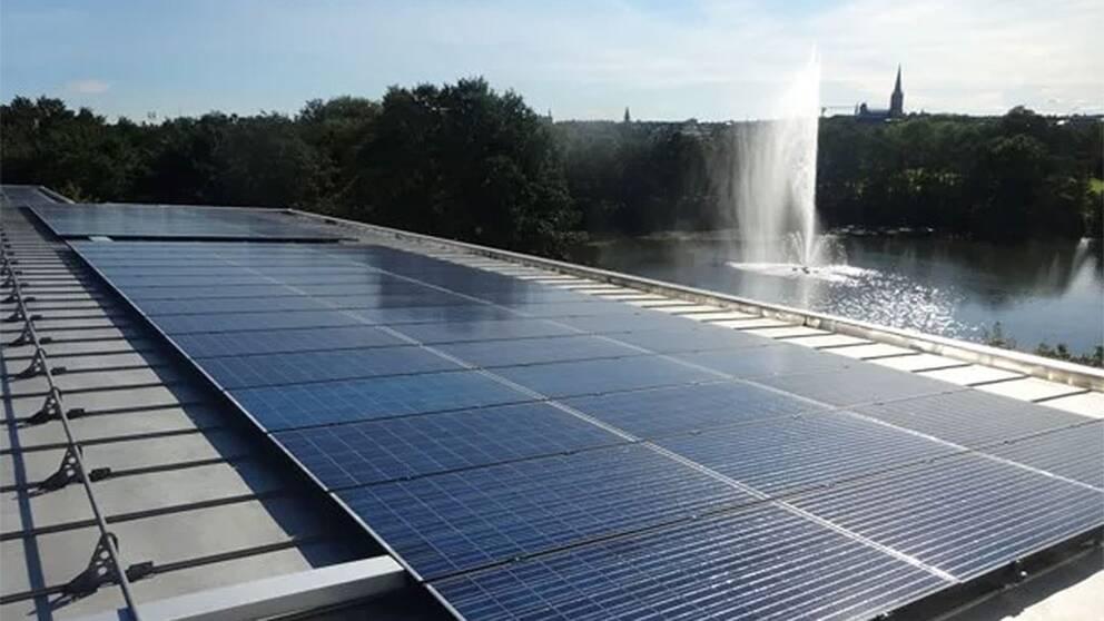 Solceller Linköping Tekniska verken