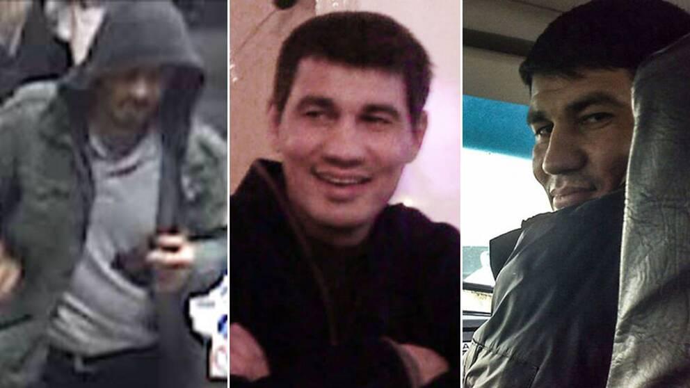 Det florerar flera bilder på Rakhmat Akilov, från polisen och sociala medier. Men namnet har använts av minst två personer, kan SVT avslöja.