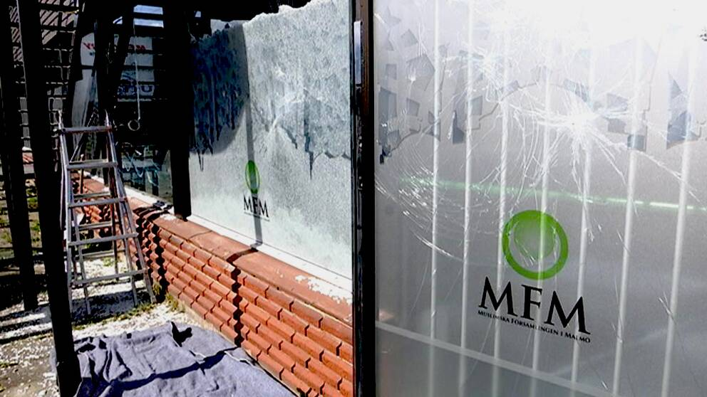 Muslimska församlingen i Malmö utsattes för stenkastning