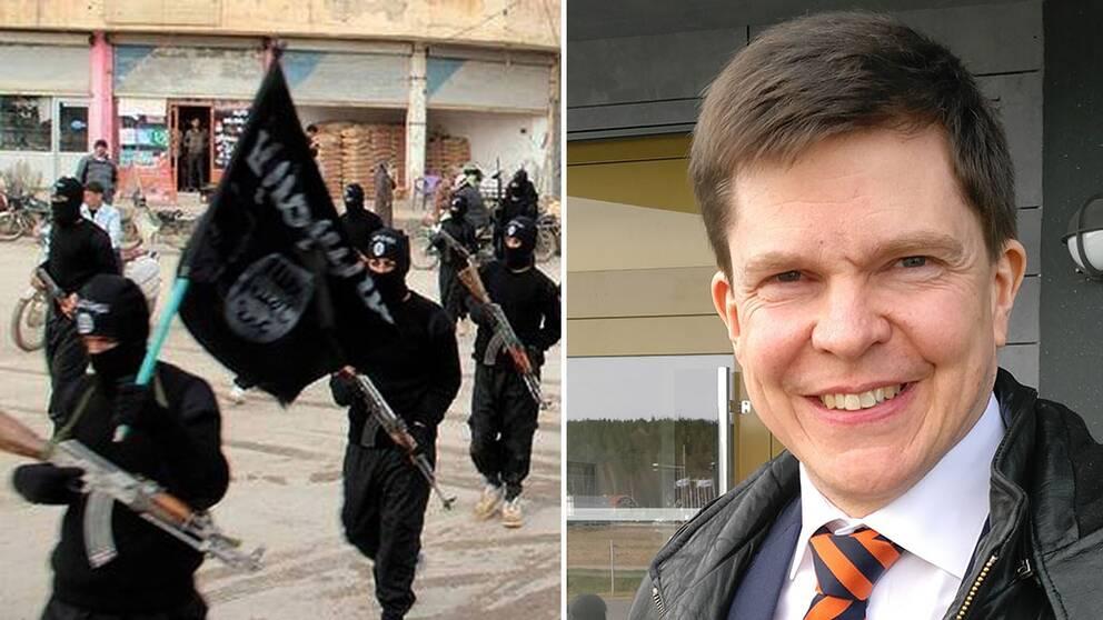 jihad IS andreas norlén ku ordförande moderaterna riksdagsledamot östergötland