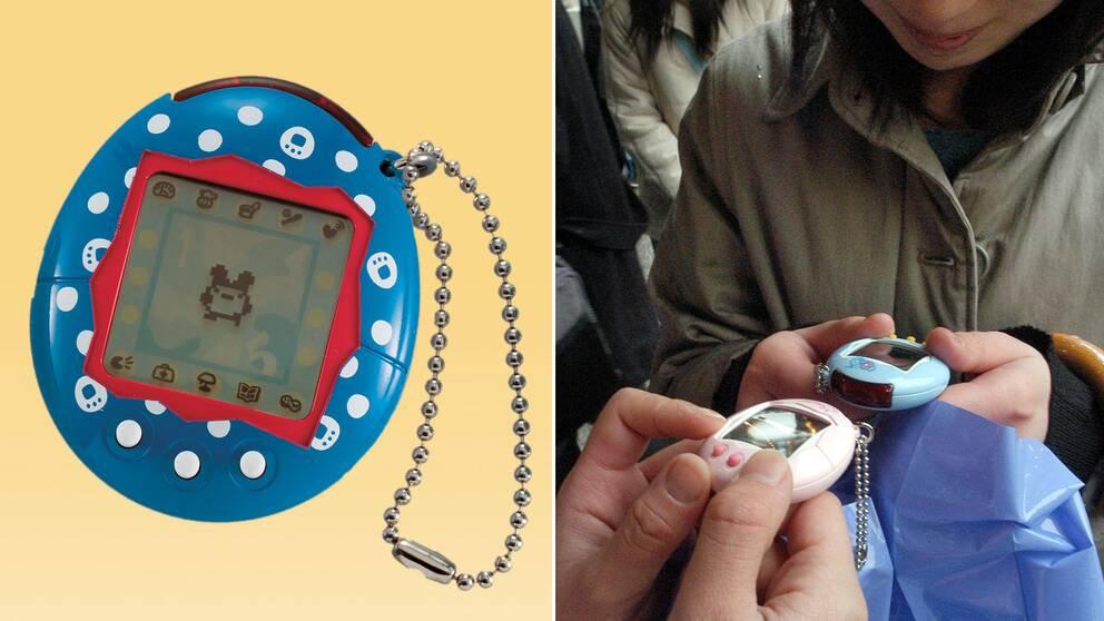 Tamagotchin lanserades 1996 och blev en internationell succé.