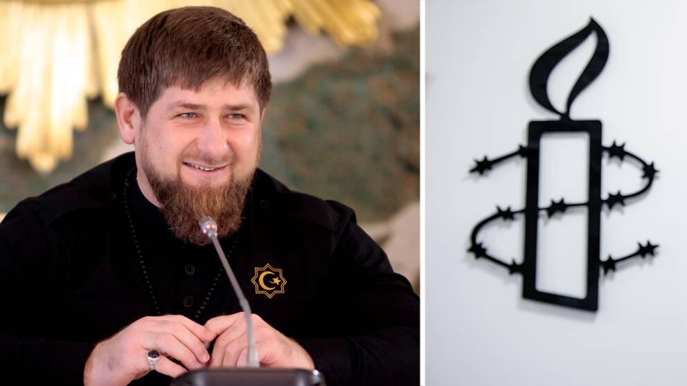 Ramzan Kadyrov, Tjetjeniens president.
