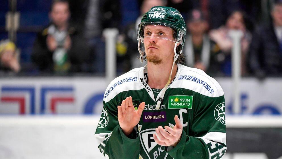 Magnus Nygren är en av tre backar i SHL som har chans att knipa titeln som årets back vid SHL Awards i maj.