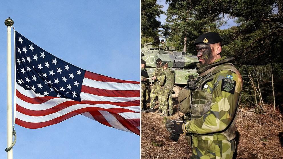Öst USA militär