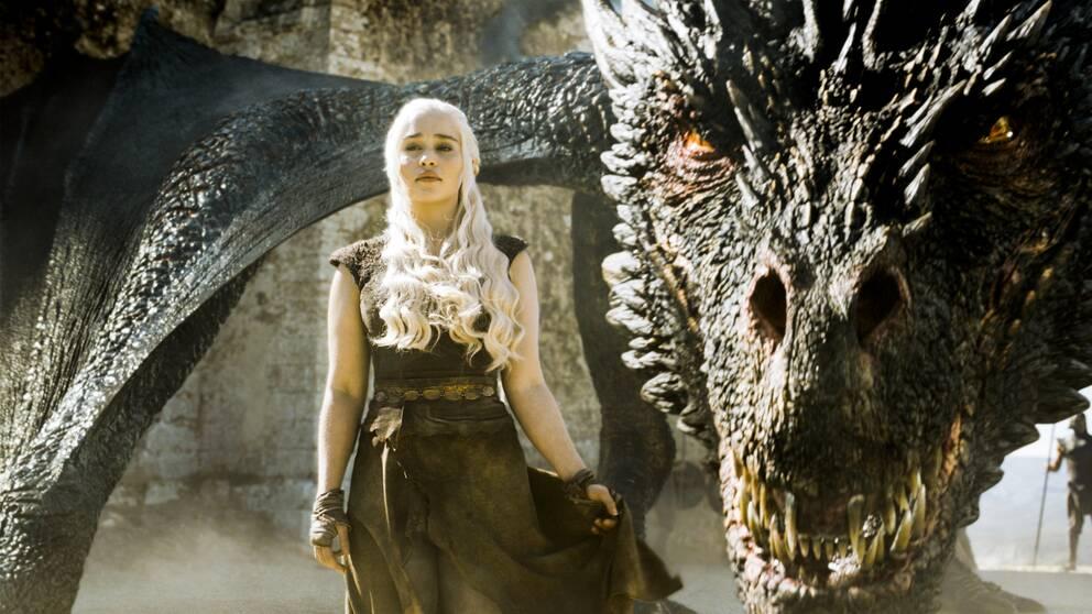 Daenerys Targaryen (Emilia Clarke) i Game of thrones.
