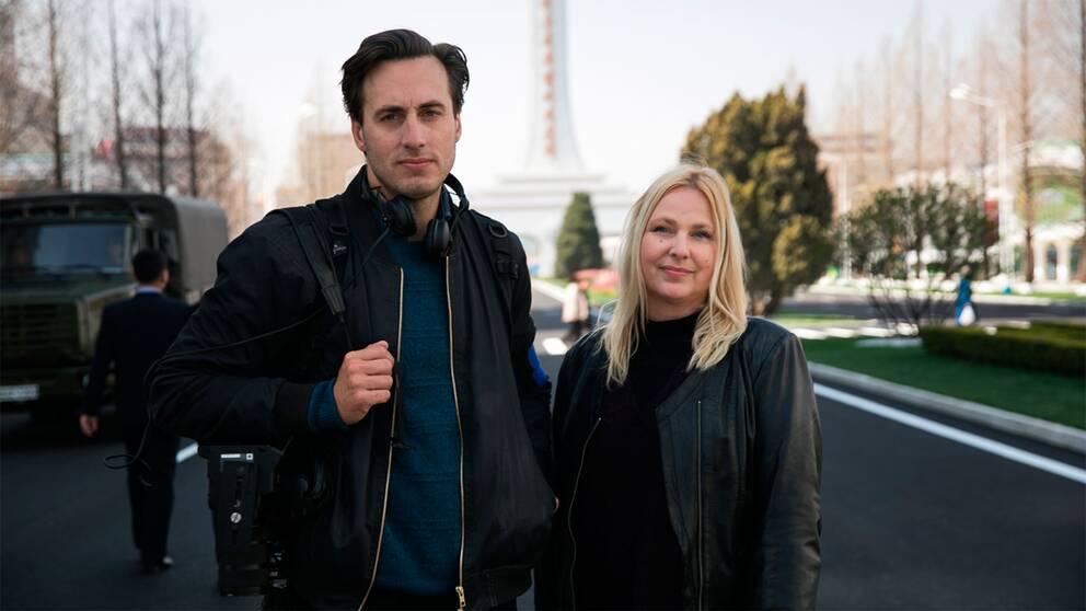 Nicolai Zellmani och Susan Ritzén rapporterar för SVT ifrån Nordkorea.