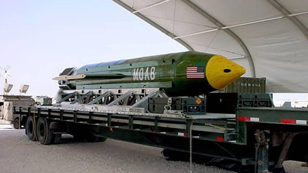 USA:s bomb.