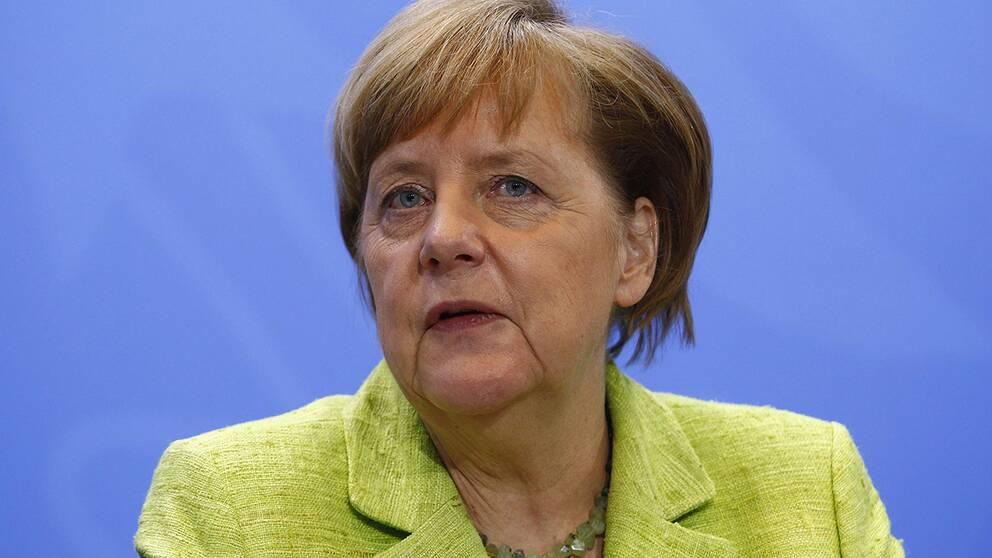 Tysklands förbundskansler Angela Merkel har i ett uttalande kommenterat valresultatet.