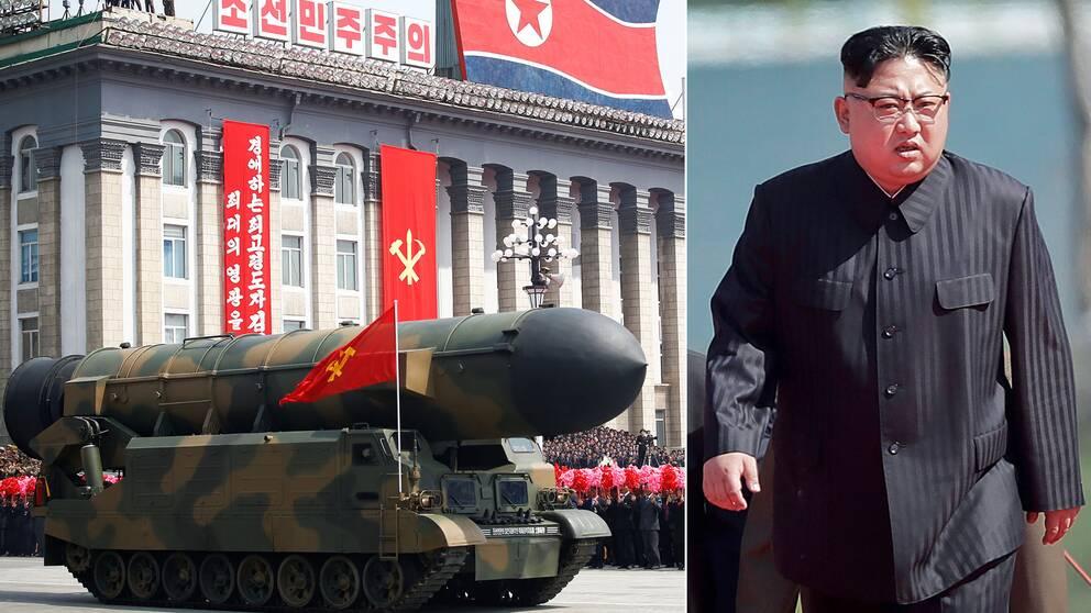 Nordkorea kommer inte att upphöra med att testskjuta robotar, trots starka fördömanden från omvärlden och USA:s hårdare ton mot landet.