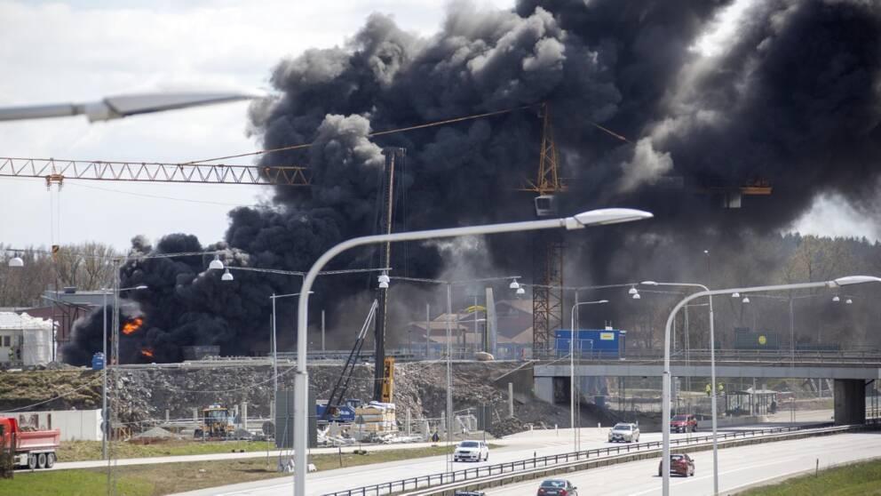 Brand i Kungälv