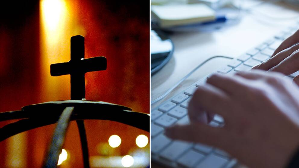 kors kyrkan tangentbord