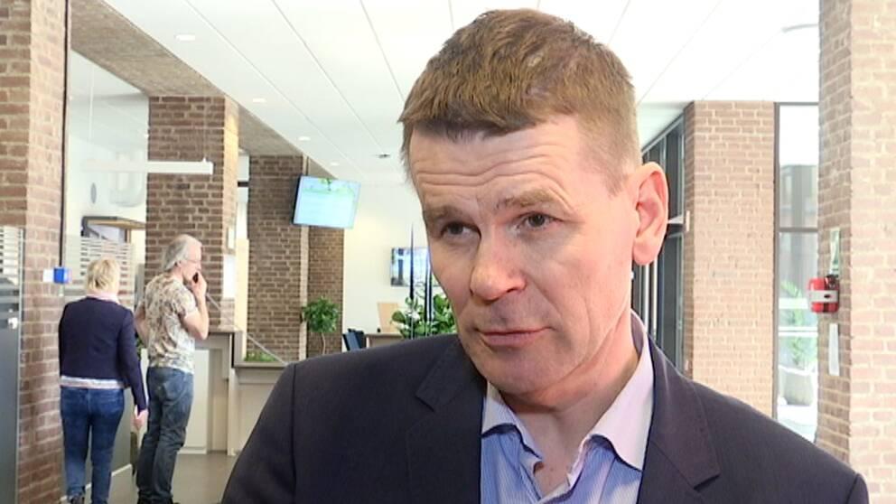 Skogsstyrelsens generaldirektören Herman Sundqvist.