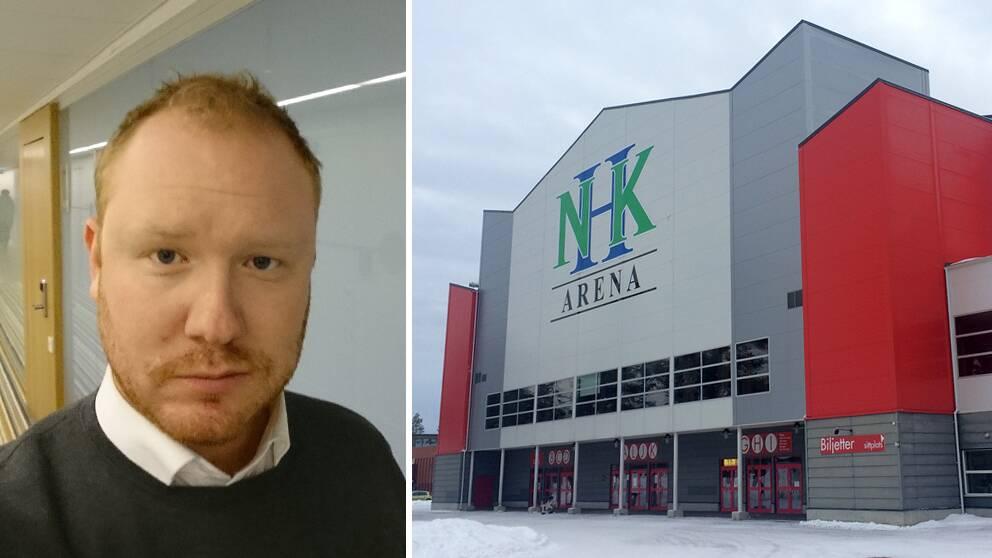Robert Thunfors och Ishallen i Timrå