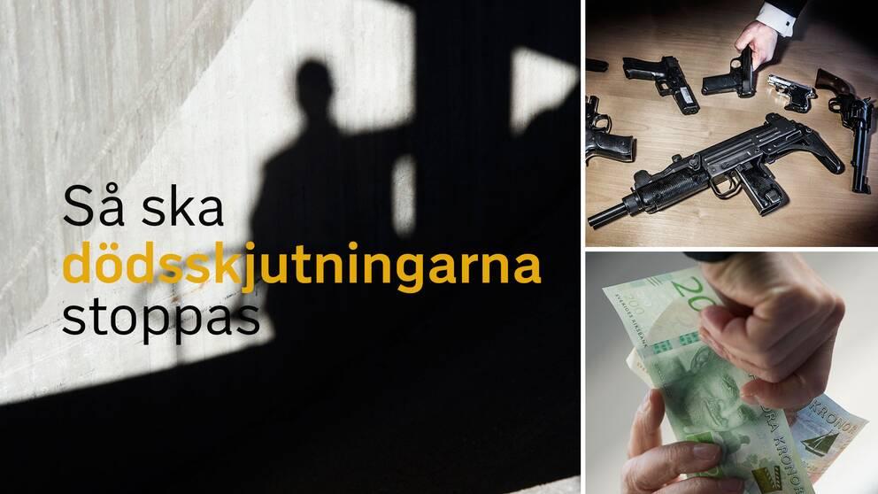 Skjutvapen har blivit trend hos ungdomar