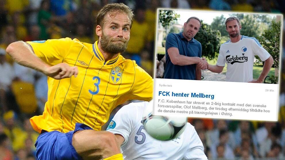 Olof mellberg klar for olympiakos