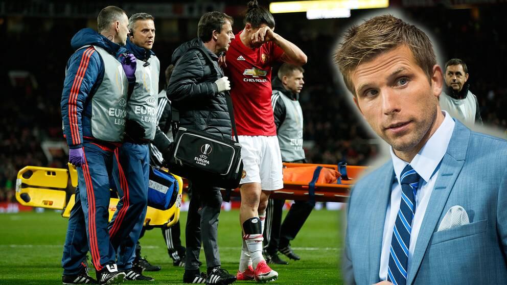 Anders Svensson är orolig för att Zlatan Ibrahimovic skada kan vara allvarlig.