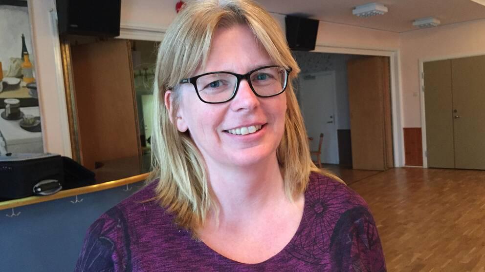 Charlotte Lindahl, kassör IFK Grimslöv.