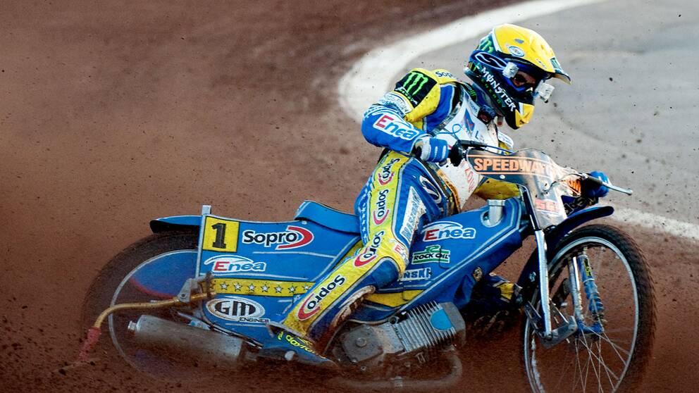 2010 års världsmästare Tomasz Gollob har skadats allvarligt i motocrossolycka i Polen.