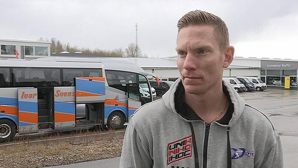 Under söndagen kom Vipers hem till Växjö efter finalförlusten mot Falun.
