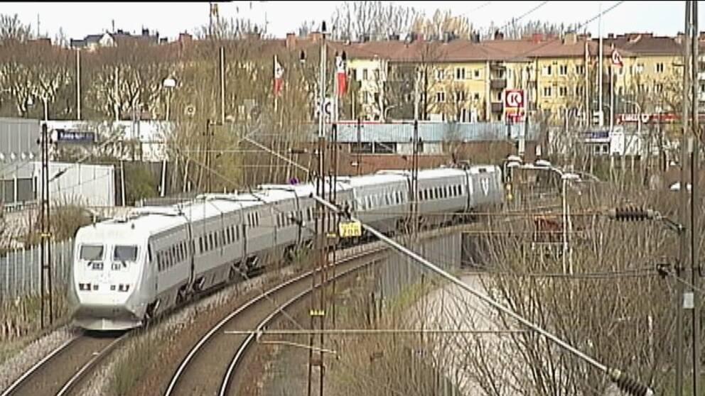 tåg bostäder öst Norrköping