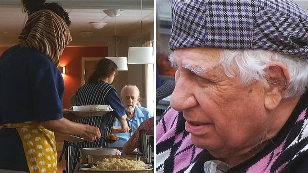 Kabil Al Salihi, uppskattar att bo på ett äldreboende där personalen talar hans modersmål. – Alla här är bra människor, säger han.