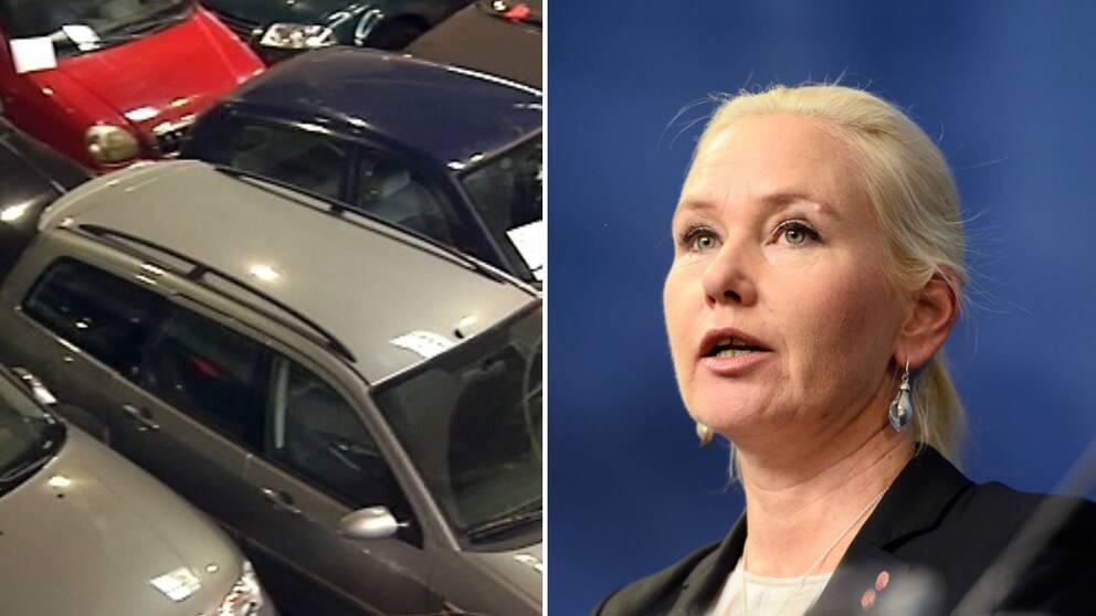 bilar och Anna Johansson