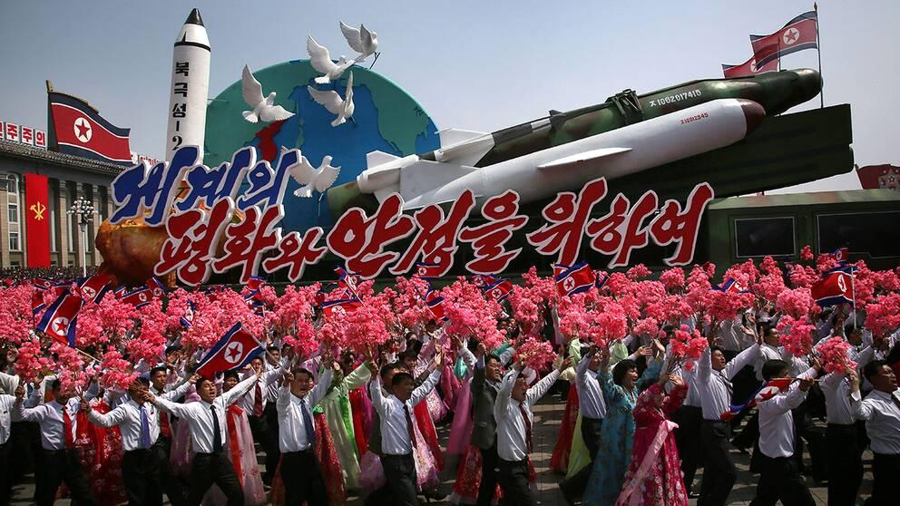 Usa skickar annu ett hangarfartyg till koreahalvon