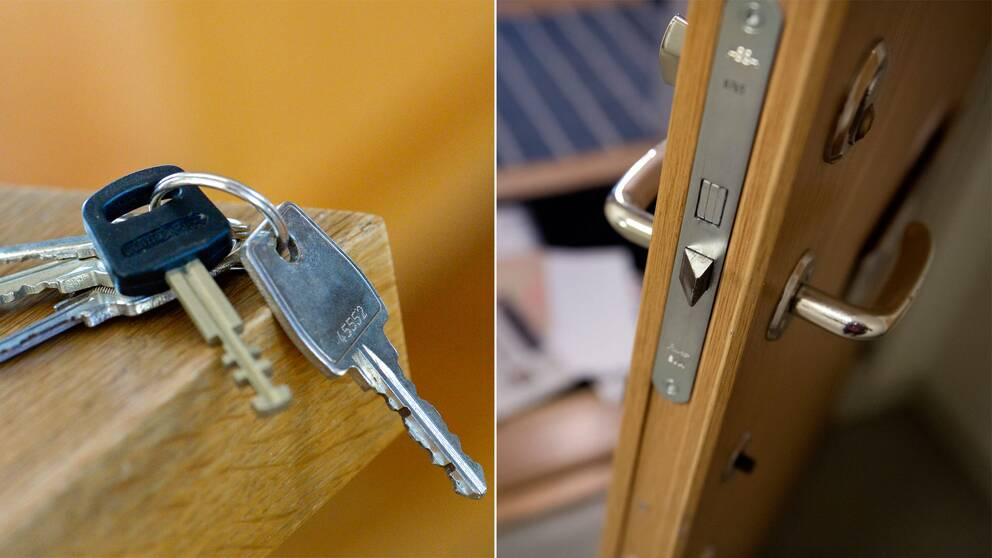 """Polisen  """"Om stöld av nycklar sker i skolan eller på jobbet är det bråttom  att säkra bostaden."""" Foto  TT dfde4f5a22205"""