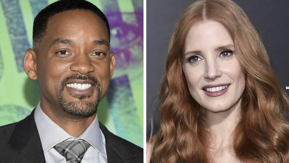 Will Smith och Jessica Castain i årets Cennes-jury.
